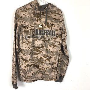 Mets Camo Hoodie Baseball L